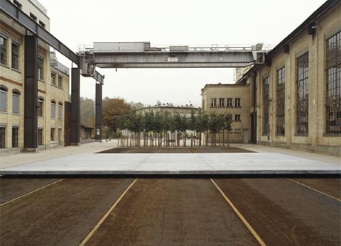 Complejo industrial Sulzer. Winterthur. Foto: Ralph Feiner